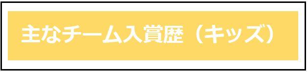 チーム入賞歴(キッズ)